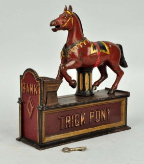 Trick Pony Mechanical Bank.