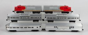 Lionel 2526w Santa Fe Passenger Super O Box Set.