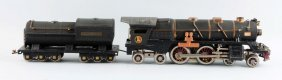 Lionel Crackle Black No. 400 Engine & Tender.