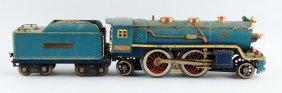Lot Of 2: Lionel 390e Blue Comet & Tender.
