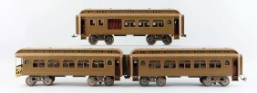 Lot Of 3: Lionel Passenger Cars In Mojave.