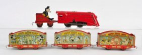 Lionel Mickey Mouse Circus Train.