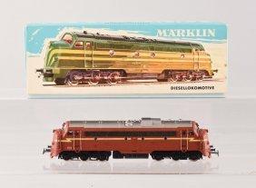 Marklin #3068 Diesel Locomotive.