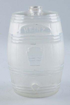 Heinz Glass Vinegar Dispenser.