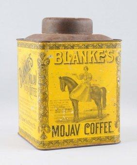 Blanke's Roasted Coffee Tin.