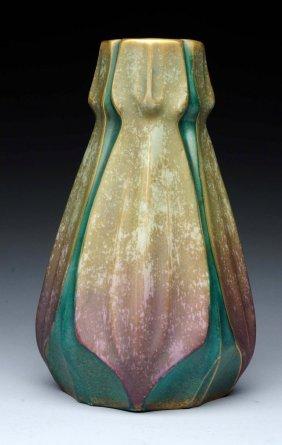 Amphora Ceramic Stylized Vase.