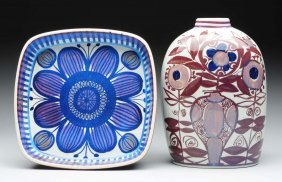 Lot Of 2: Royal Copenhagen Pottery.