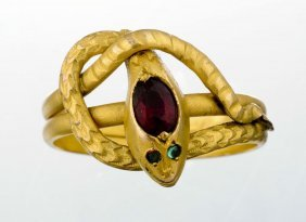 Victorian Snake Ring.