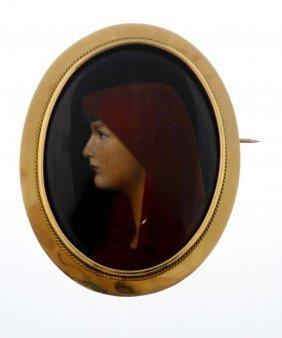 A Portrait Brooch.