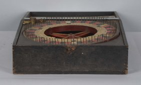 Mills Novelty Travelling Roulette Game
