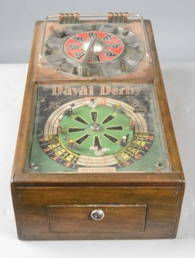 Multi-coin Daval Derby Horse Race Counter Game