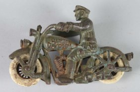 Harley Davidson Cast Iron Motorcycle Toy