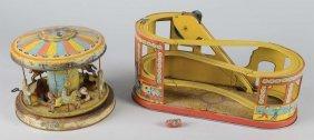 Lot Of 2: Chein Tin Litho Toys