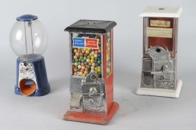 Lot Of 3: Coin-op Vending Machines