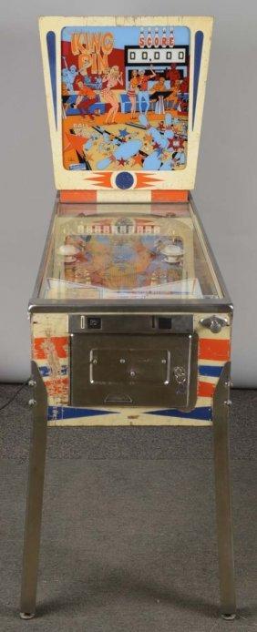 25¢ Gottlieb's King Pin Pinball Arcade Machine
