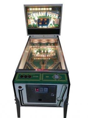 25¢ Williams Pennant Fever Pinball Machine