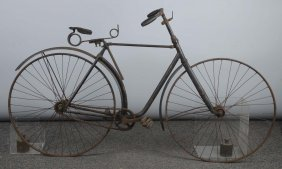 1891 Meacham Convertible Hard Tired Safety Bicycle