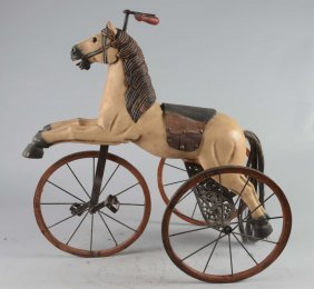 Figural Horse Child's Tricycle