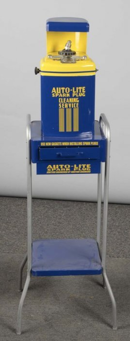 Auto-lite Spark Plug Cleaning Stand