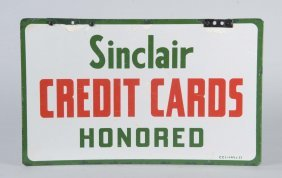 Sinclair Credit Card Honored Dsp Sign