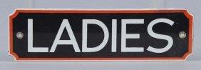 (signal) Ladies (rest Room) Sign