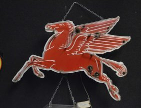 Small Pegasus (mobil) Neon Sign