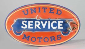 Reproduction United Motor Service Neon Sign