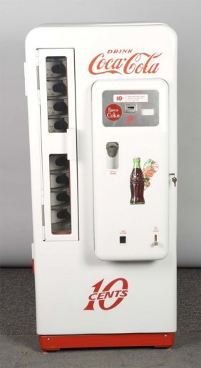 10¢ Cavalier Model 72 Coca Cola Vending Machine