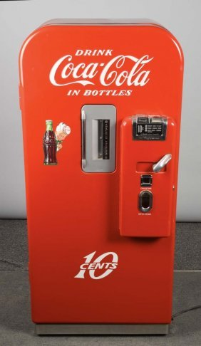 10¢ Vendo Coca Cola Soda Vending Machine