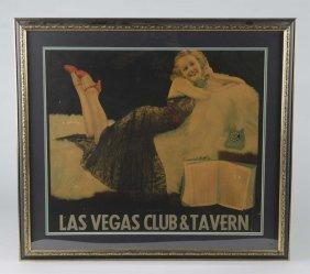 Las Vegas Club & Tavern Advertising Poster