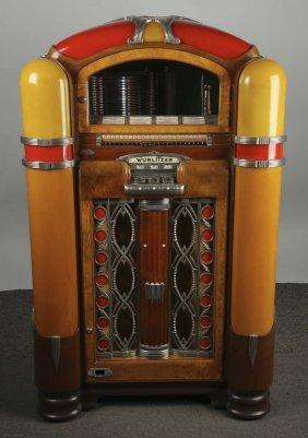 Multi Coin Wurlitzer Model 800 Phonograph Jukebox