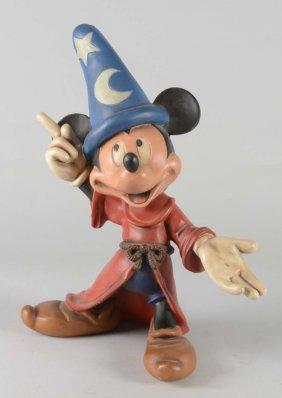 Rare Fantasia Mickey Mouse Fiberglass Statue