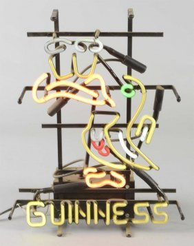 Guinness Beer Toucan Neon Advertising Sign