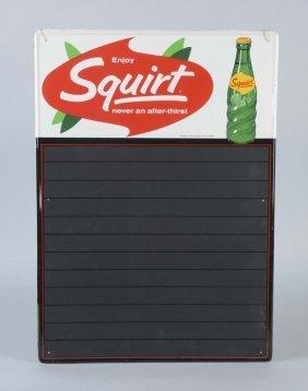 Squirt Soda Chalkboard Menu Sign