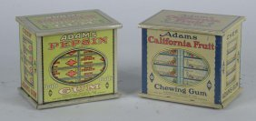 Lot Of 2: Countertop Chewing Gum Tins