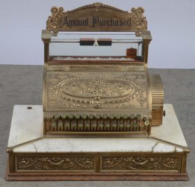 National Cash Register Brass Model 47 1/2 2-2