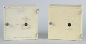 Lot Of 2: Gamewell Fire Alarm Boxes