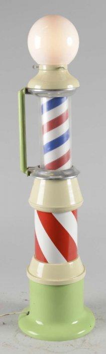 Miniature Salesman's Sample Style Barber Pole