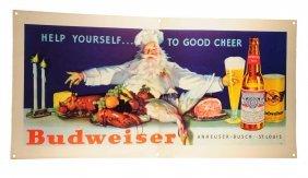 Beautiful 1950's Budweiser Poster.