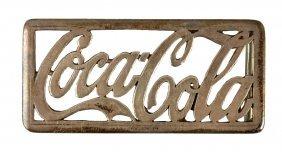 1930's - 40's Coca - Cola Belt Buckle.