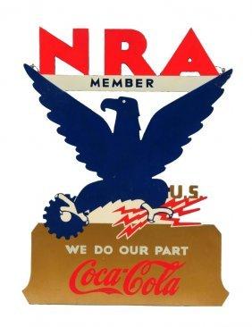 Rare 1930's Coca - Cola Kay Displays Sign.