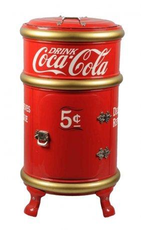 Restored Coca - Cola Cooler.