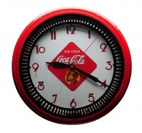 Coca - Cola Neon Clock.