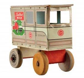 1940's - 50's Sealtest Milk Toy Wagon.