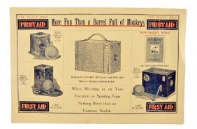 1920's First Aid Promotional Poster.