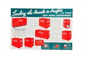 1930's Coca - Cola Coolers Brochure.