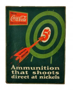 1920's Coca - Cola Sales Promotional Booklet.