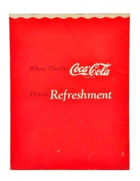 1940's Coca - Cola Promotional Large Booklet.