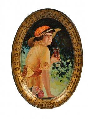 1916 Coca-cola Tip Tray.