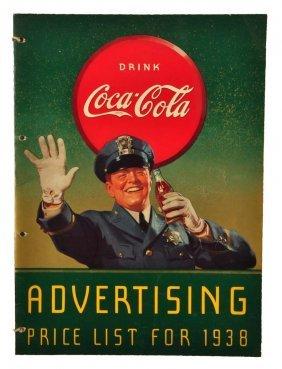 1938 Coca - Cola Bottlers Price List.